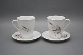 Mug 0,3l with saucer Verona Corn BB