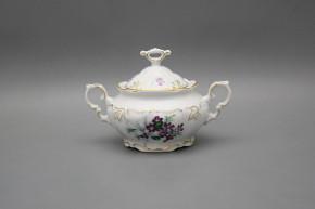 Sugar bowl 0,4l Marie Louise Sweet violets GL LUX
