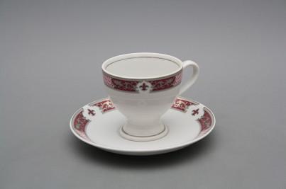 Coffee cup 0,135l and saucer Christine MPP č.1