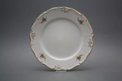 Flat plate 25cm Marie Louise Tea roses GL č.1