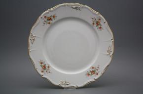Flat round dish 30cm Marie Louise Tea roses GL