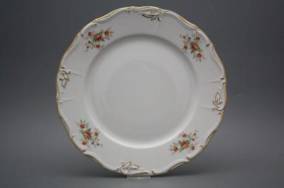 Flat round dish 30cm Marie Louise Tea roses GL č.1