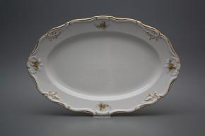 Oval dish 32cm Marie Louise Tea roses GL