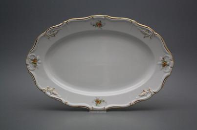 Oval dish 32cm Marie Louise Tea roses GL č.1