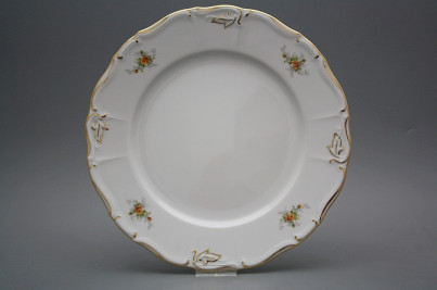 Flat plate 27cm Marie Louise Tea roses GL č.1