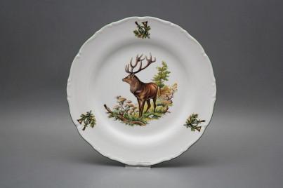 Flat plate 25cm Ofelia Stag GZL č.1