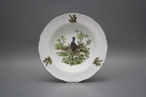 Deep plate 23cm Ofelia Pheasant GZL