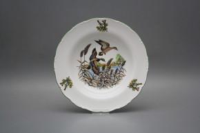Deep plate 23cm Ofelia Mallard ducks GZL