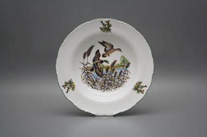 Deep plate 23cm Ofelia Mallard ducks GZL č.1