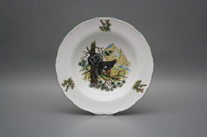 Deep plate 23cm Ofelia Capercaillie GZL č.1