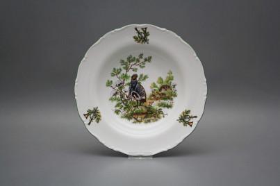 Deep plate 23cm Ofelia Partridge GZL č.1