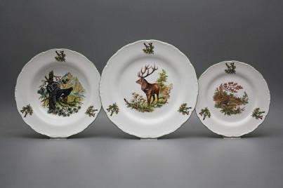 Plate set Ofelia Gamekeepers 18-piece GZL č.1