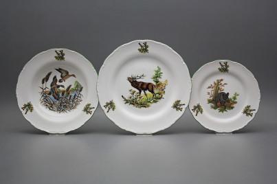 Plate set Ofelia Gamekeepers 12-piece GZL č.1