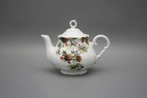 Teapot 0,75l Verona Pine Cones BB