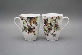 Mug 0,3l Verona Pine Cones BB