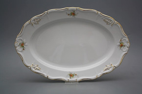 Oval dish 34cm Marie Louise Tea roses GL LUX