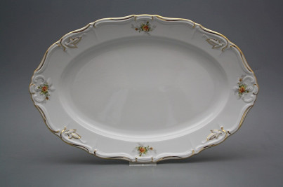 Oval dish 34cm Marie Louise Tea roses GL LUX č.1