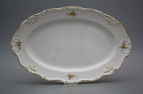 Oval dish 36cm Marie Louise Tea roses GL LUX