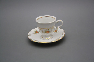 Cup 0,07l with saucer Marie Louise Tea roses GL č.1