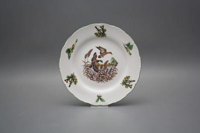 Dessert plate 19cm Ofelia Mallard ducks FZL č.1
