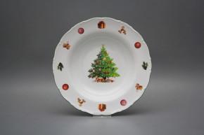 Deep plate 23cm Ofelia Christmas Tree JZL