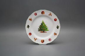 Dessert plate 19cm Ofelia Christmas Tree JZL