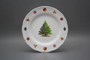 Flat plate 25cm Ofelia Christmas Tree JBB