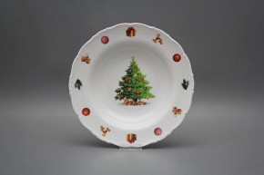 Deep plate 23cm Ofelia Christmas Tree JBB