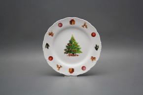 Dessert plate 19cm Ofelia Christmas Tree JBB