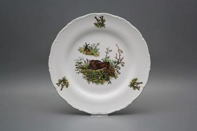 Flat plate 25cm Ofelia Hare GZL č.1