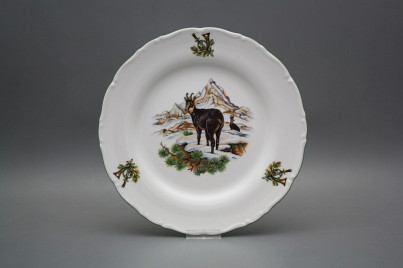 Flat plate 25cm Ofelia Chamois GZL č.1