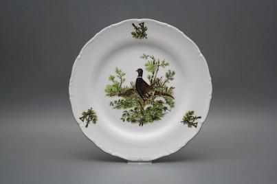Flat plate 25cm Ofelia Pheasant GZL č.1
