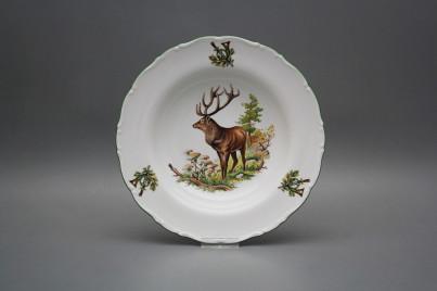 Deep plate 23cm Ofelia Stag GZL č.1