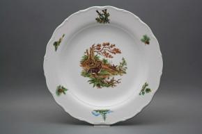 Flat round dish 31cm Verona Rabbit FZL