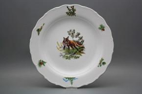 Flat round dish 31cm Verona Fox FZL