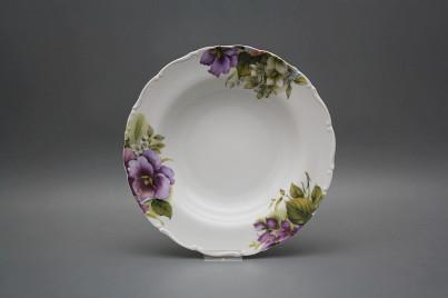 Deep plate 23cm Ofelia Pansy CBB č.1