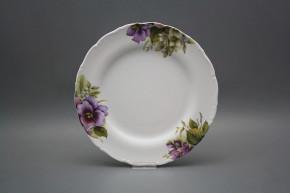 Flat plate 25cm Ofelia Pansy CBB