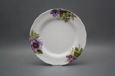 Flat plate 25cm Ofelia Pansy CBB č.1