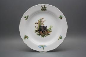 Flat round dish 31cm Verona Wild boar FZL