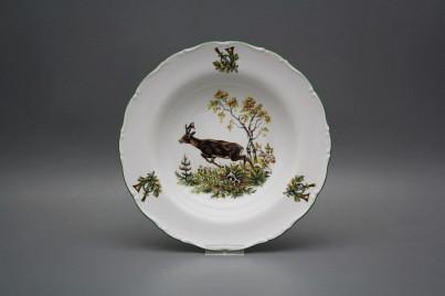 Deep plate 23cm Ofelia Roebuck GZL č.1