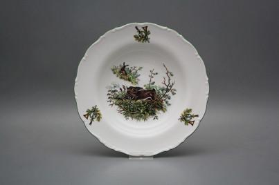 Deep plate 23cm Ofelia Hare GZL č.1