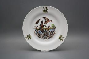 Flat plate 25cm Ofelia Mallard ducks GZL