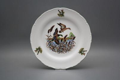 Flat plate 25cm Ofelia Mallard ducks GZL č.1
