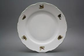 Flat round dish 31cm Verona Gamekeepers AZL