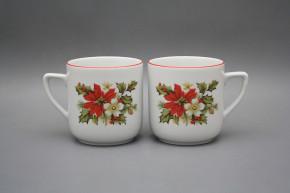 Mug Petka 0,4l Poinsettia CL