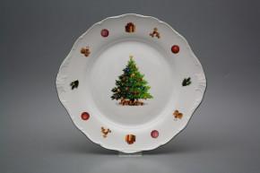 Cake plate 27cm Verona Christmas Tree JZL