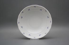 Deep dish 23cm Verona Forget-me-not Sprays ABB