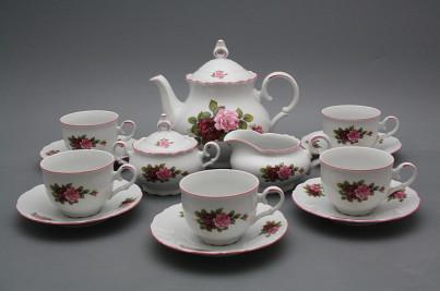 Tea set Ofelia Elizabeth rose 15-piece RL č.1