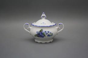 Tea sugar bowl 0,24l Ofelia Forget-me-not AL
