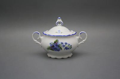 Tea sugar bowl 0,24l Ofelia Forget-me-not AL č.1